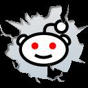 reddit, inside icon