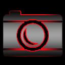 A simple camera icon