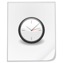 temporary, file, clock, time icon