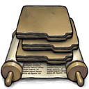 folder,action icon