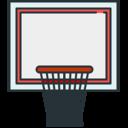 Sports Basketball basket icon