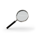 magnifying glass, search, find icon