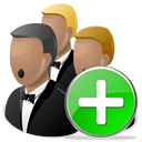 Add, Network icon