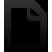 Document, Empty icon