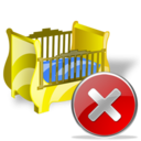 cradle,close,no icon