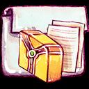 library, folder icon