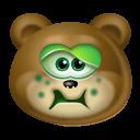 Teddy Bear Sick icon