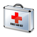 kit, aid, first icon