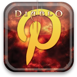 pinterest, diablo icon