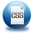 file, css icon