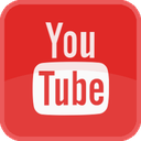 play, movie, red, square, video, tube, film, tv, player, youtube icon