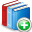 books, add icon