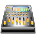 console, audio icon