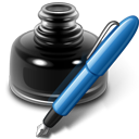 openofficeorg, writer, paint, edit, old, pencil, writing, draw, pen, write, ink icon