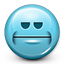 emot, smiley face, smiley, neutral, angry, blank face icon