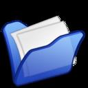 Folder blue mydocuments icon