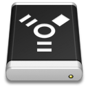 drive,black,firewire icon