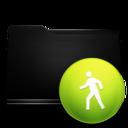black,folder,public icon