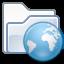 Network Folder Web icon