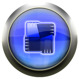 blue, avg icon