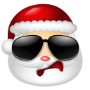 Santa Claus Cool icon