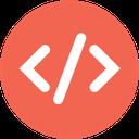 html, code, web icon