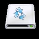 Disk backup icon