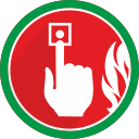 fire, problem, warning, alarm, alert icon