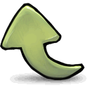 left,leftup,up icon
