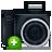 camera,noflash,add icon