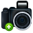 noflash, plus, add, camera, photography icon