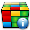 cube,info,information icon