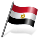 Egypt Flag 3 icon