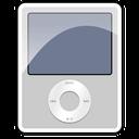 silver, ipod, nano, 3g icon