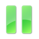 pause,pressed icon