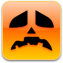 sad, pumpkin icon