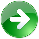 play, end, right, next, last, green icon