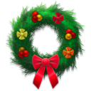 holiday,wreath,festive icon