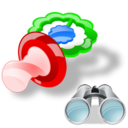 Pacifier, Search icon