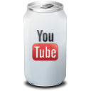 drink, youtube icon