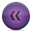 violet, rewind, button icon