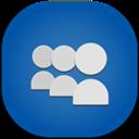 Flat, Myspace, Round icon
