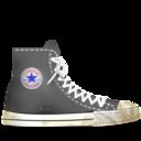 converse,gray,dirty icon