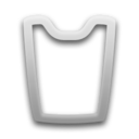 recycle,empty,blank icon