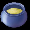 sugar,bowl,filled icon