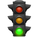 daemon, tip, light, energy, hint, traffic icon