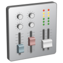 Mixer, Sound icon
