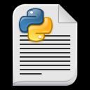 text x python icon