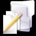 Filesystem folder txt icon