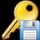 Save key icon